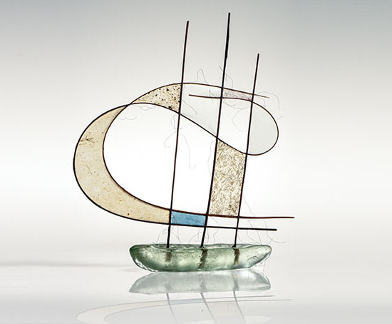 Jane Balsgaard Glass Boat