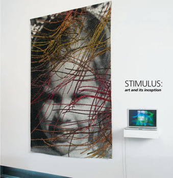 Stimulus: art and its inception catalog cover