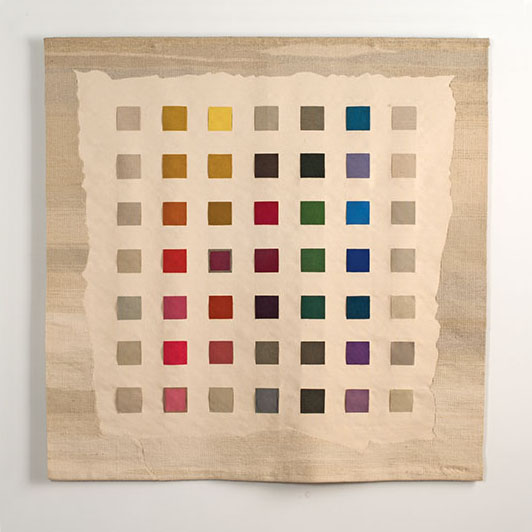 Sheila Hicks Alphabet Tapestry