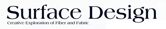 Surface Design Journal Logo